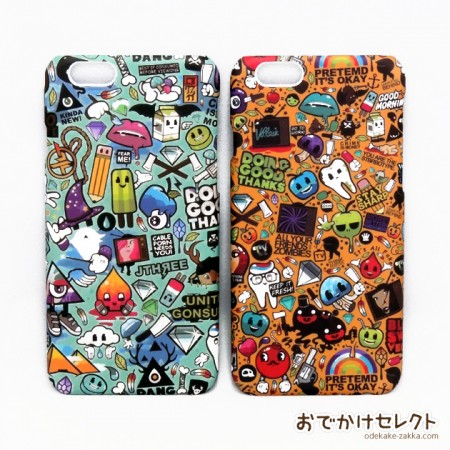 iPhone6s/6 ケース キャラクター 6sPlus/6Plus カバー かわいい イラスト