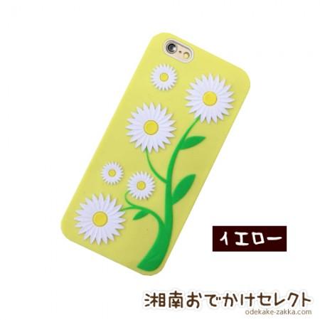 iPhone6 ケース おしゃれ シリコン iPhone5s/5 花柄 ソフトケース アイフォン6